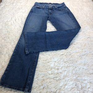 Levi's 529 curvy bootcut women's jeans size 12M